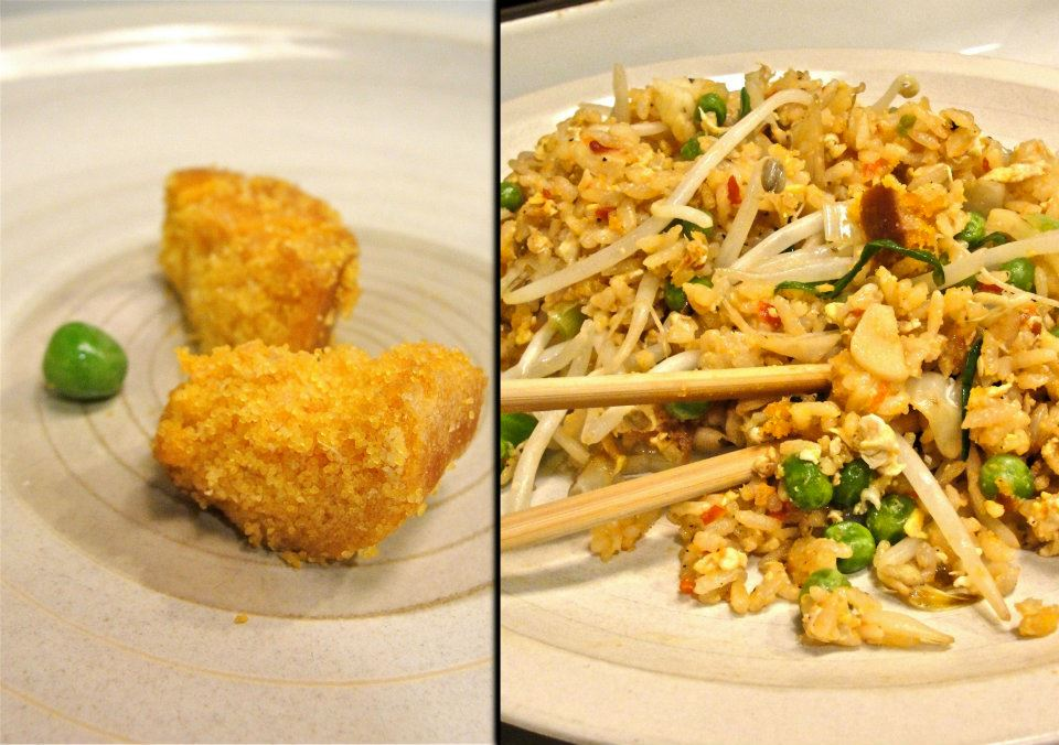 February 2012 kitchen convivial for Fish fried rice