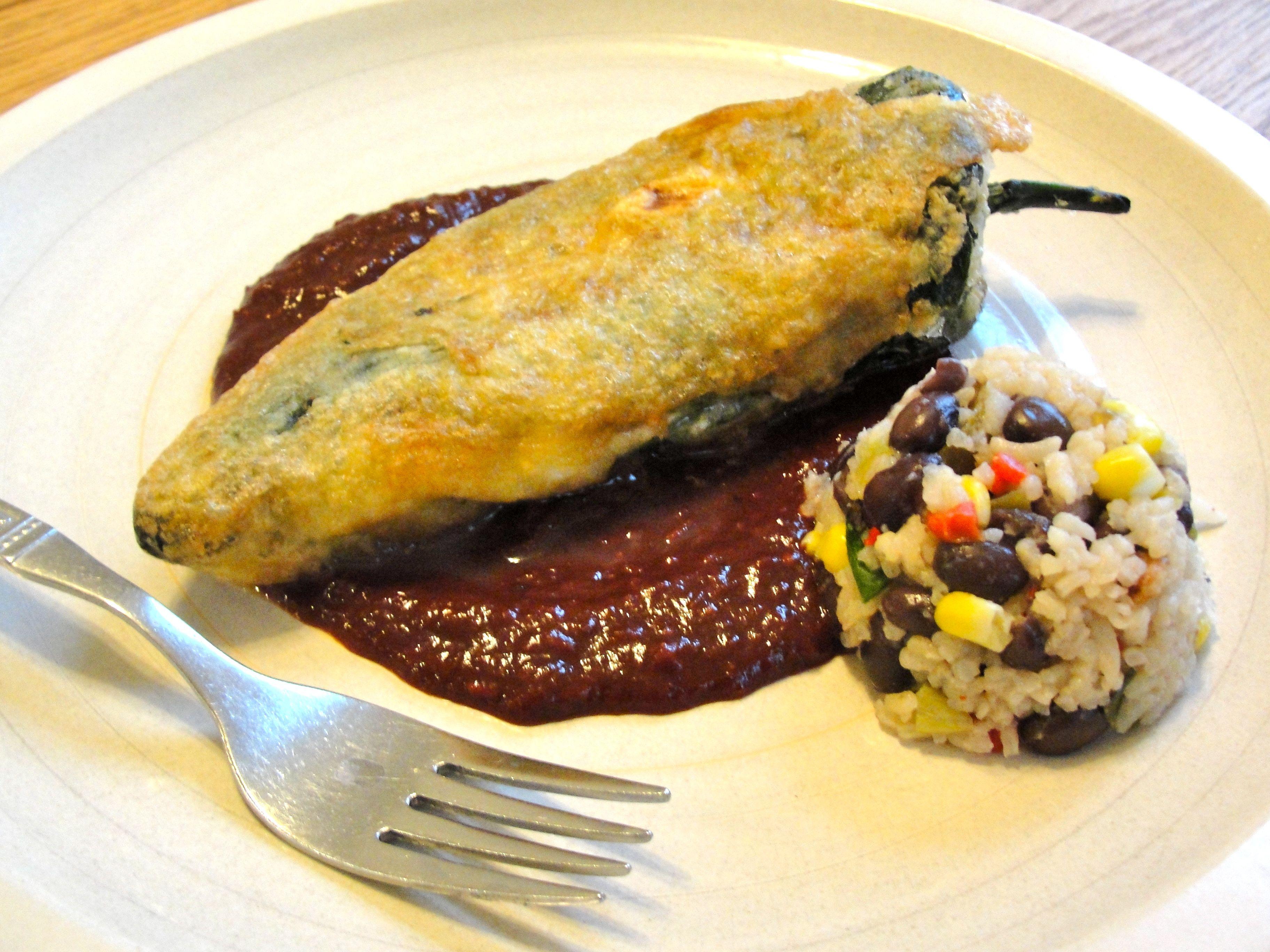 Chile Recipes Mexican Sauce Relleno