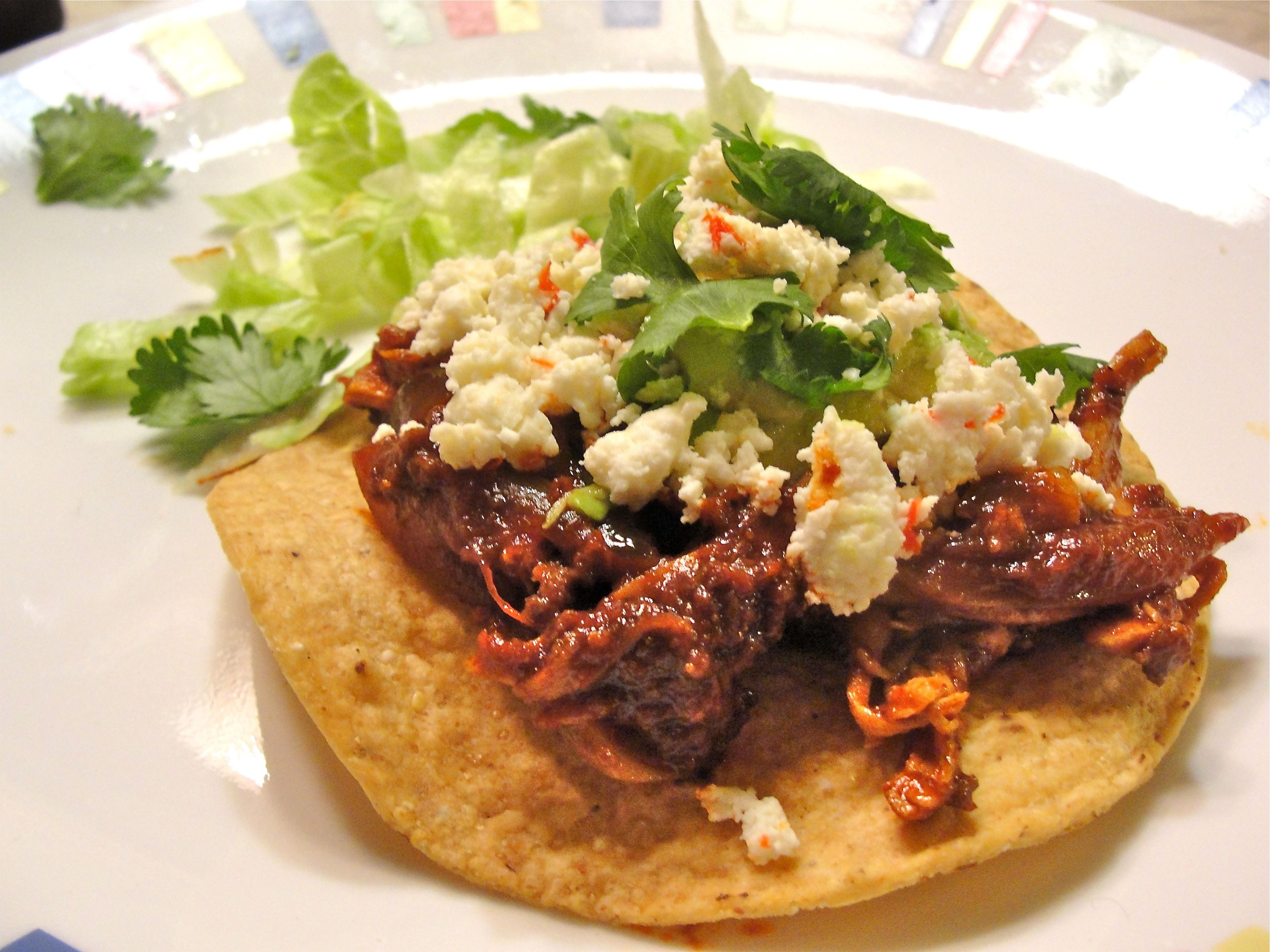 Chicken Tinga Tostadas Recipes — Dishmaps