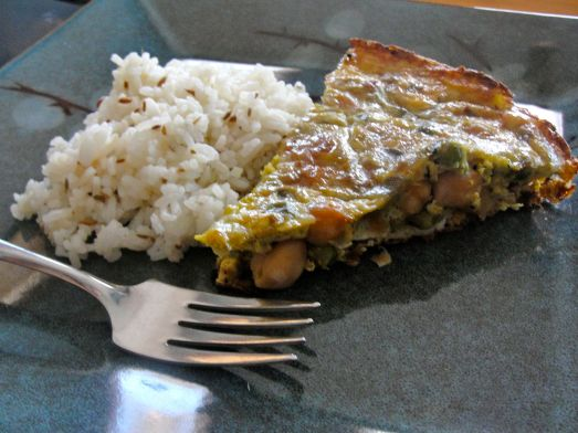 Leftover Curry Frittata