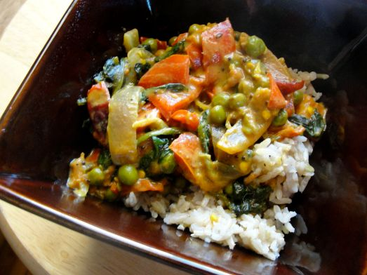 Tomato Coconut Curry