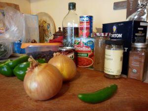 Turkey Chipotle Chili ingregients